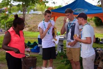 Volunteers at Reservoir