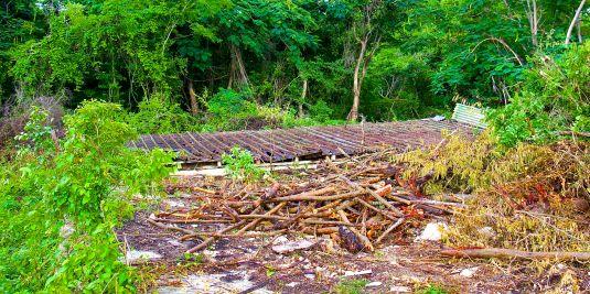Reservoir debris