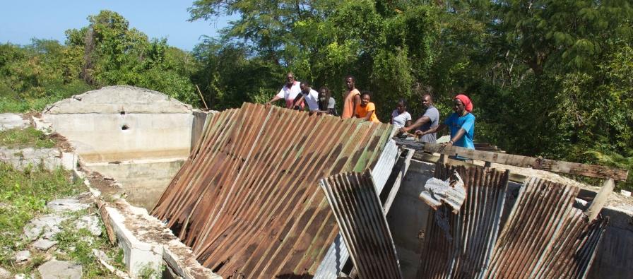 Reservoir roof 2